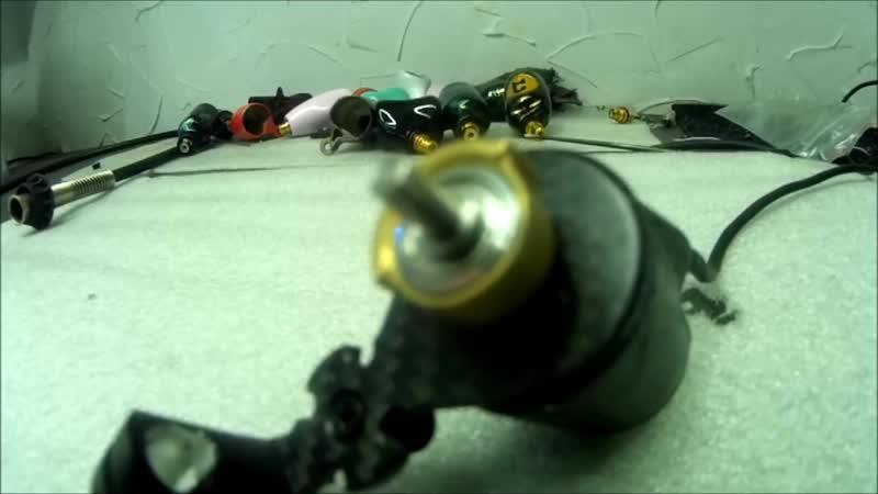 первый запуск сбалансированного эксцентрика под иглы Cyborg machines