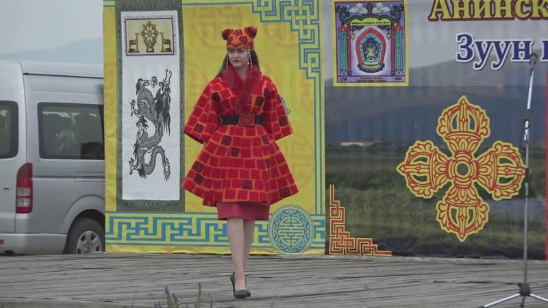 Коллекция бурятской одежды Хори Хатан
