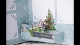 Обзор новогоднего поп ап альбома Щелкунчик