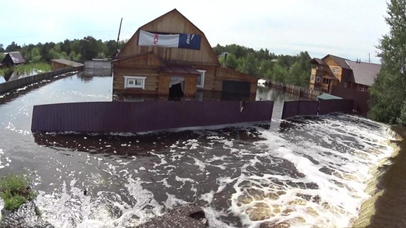 Потоп в Смоленке Ад на земле