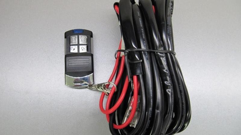 Комплект проводов с пультом Д.У. и стробоскопом gv-auto.com.ua