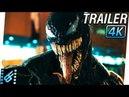 VENOM Trailer 2 (2018) 4K Ultra HD | Tom Hardy, Michelle Williams, Riz Ahmed