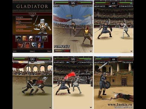 Gladiator 3D - FISHLABS (Java Mobile Game)