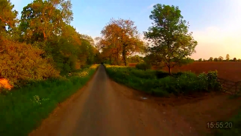 30 Minutes Workout - Virtual Scenery - Treadmill - Exercise Machine (Cotswolds UK) 1080-60fps