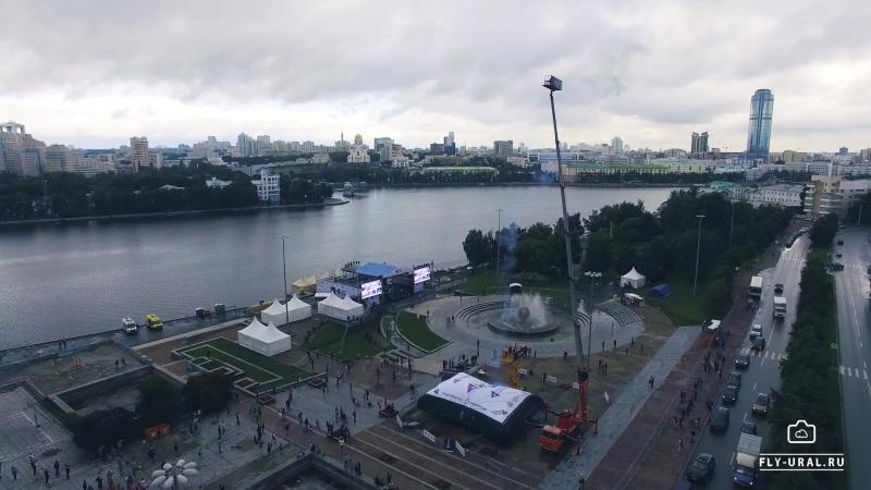 Рекорд России. Падение человека с высоты 45 м. г. Екатеринбург, 2017