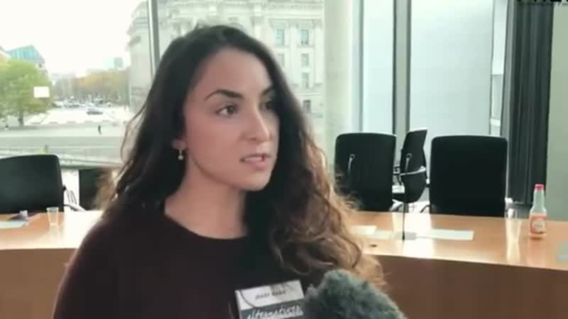 Mary Khan - Alternativen Frauenkongress der AfD in Berlin