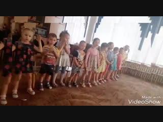 Новоалтайск ДОУ 19 вокал. Рябенькая Катерина Демьяновна. Распевка. И фрагмент песни( учимся петь под минусовку)