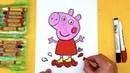 Свинка ПЕППА как нарисовать просто рисуем мультик