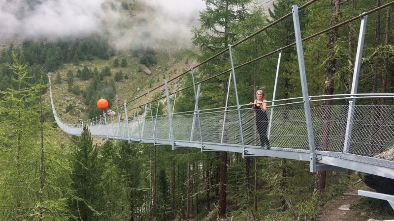 Самый длинный подвесной мост. Динкины рассказы