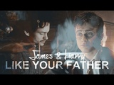 Like your father Harry and James