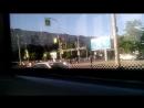 Поездка на 25 трамваи красно белый ЛВС-2005
