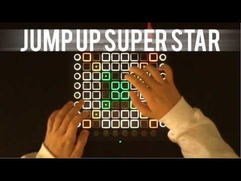 Super Mario Odyssey Theme - Jump Up, Super Star! (The Living Tombstone remix) Launchpad Cover