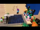 Stopmotion Lego Minecraft  - прыжки с трамплина
