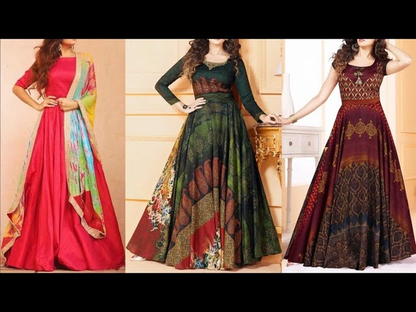 WOW New Design Kurti Images / Photo || Gown Dress Picture || dress design for girls