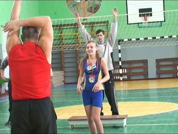 Степ-аеробіка в Білокуракинській ЗОШ №1, 10.02.2010
