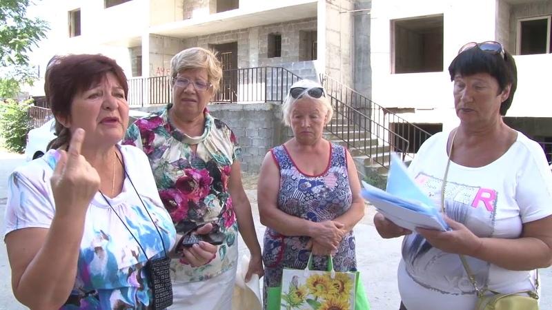 В Анапе ищут решение как помочь дольщикам с Парковой 60