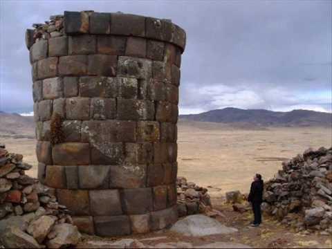 PERU - PERUVIAN MUSIC - musica andina peruana( Sillustani )