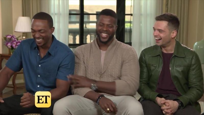 Интервью для Entertainment Tonight в рамках промоушена фильма «Мстители: Война бесконечности» в Лос-Анджелесе, США | 21.04.18