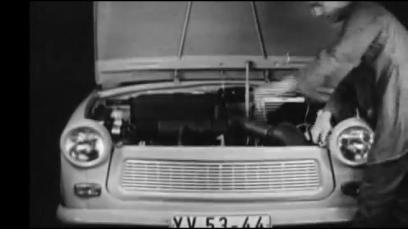 Trabant - Cool Coupe From The Cold War - German - Deutsch