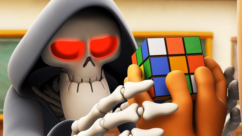 Spookiz Solve the Puzzle Rubik's Cube 스푸키즈 Funny Cartoon Kids Cartoons Videos for Kids