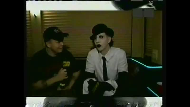 Marilyn Manson MTV2 Headbangers Ball Interview 2003