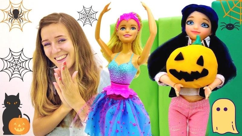 Halloween para muñecas. Barbie y Ladybug. Vídeos para niñas.