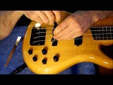 Installing the EMG LJVX + PAX Victor Wooten Pickup Set &amp Michael Pope Flexcore Preamp - Step 7