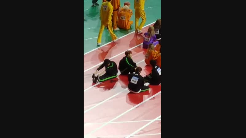 [VK][190107] MONSTA X fancam (I.M focus) @ 2019 Idol Star Athletics Championships