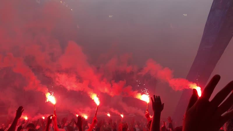 FC Copenhagen - obichnii tihii semeinii vohodnoi na stadione :D