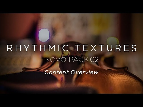 Heavyocity - Rhythmic Textures - Content Overview