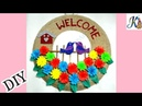 Wow Beautiful Wall decor idea DIY Jute Craft Best out of waste Waste material craft Idea