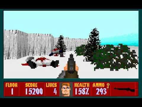 Wolfenstein 3D - Project Toten Eisen Ritter - Level 1