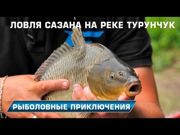 Ловим крупного карася и речного сазана! Рыболовные приключения на реке Турунчук!