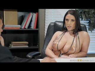 Angela White (Just To Be Clear)[2018, Big Naturals,Black Stockings,Cuckold,Huge Tits,Natural Tits,Tittyfuck, HD 1080p]