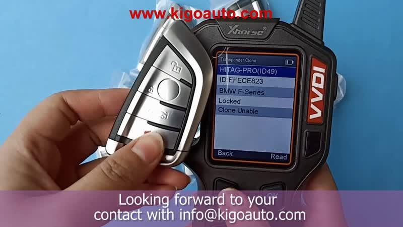 N5F-ID2A Smart key 4 button 434Mhz for BMW X5 X6 3248A-ID2A