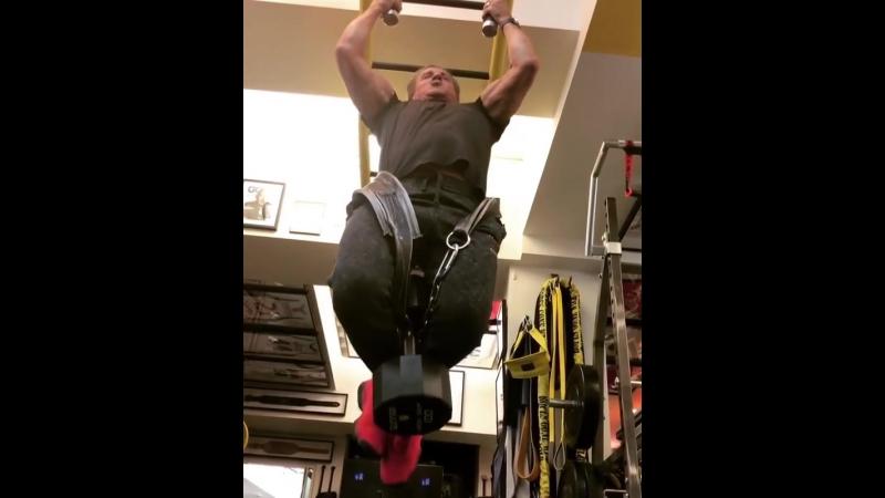 Sylvester Stallone 45 кг