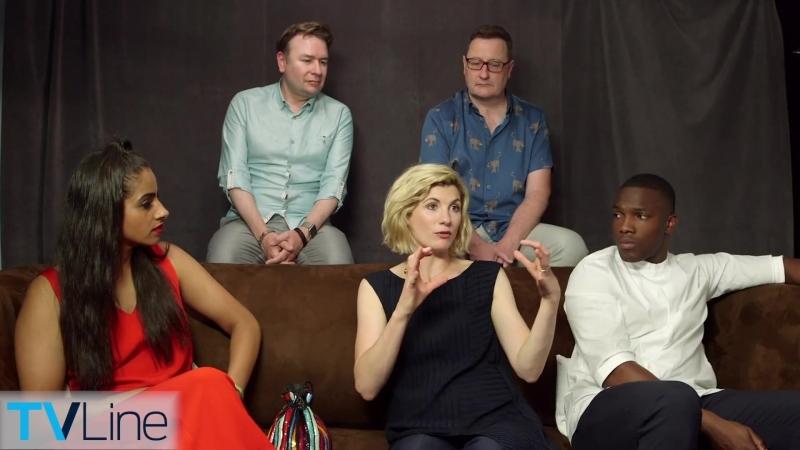 19 июля 2018 › Интервью для портала «TVLine» в рамках фестиваля «Comic-Con»