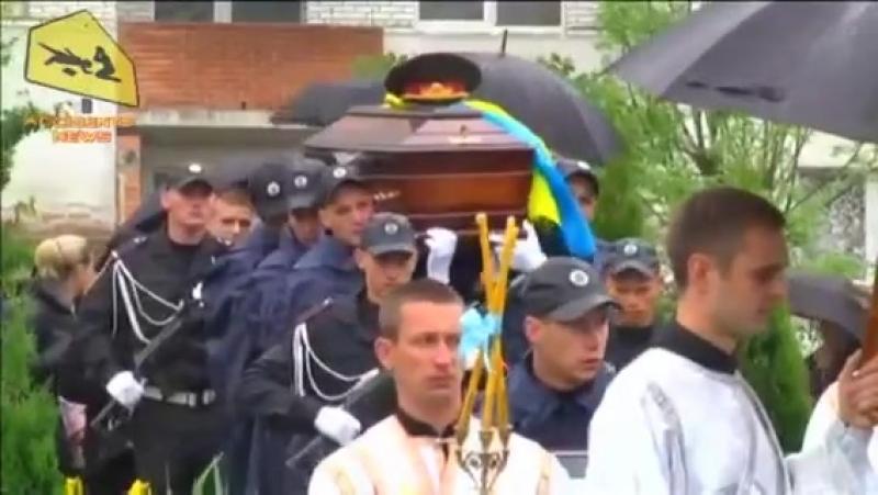 Львов. 31 мая, 2014. Похороны Кульчицкого.