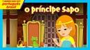 O príncipe Sapo desenho infantil histórias divertidas para crianças