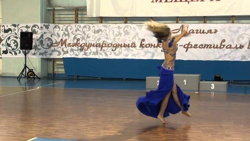 Татьяна Кругляк Профессионалы соло женщины Oriental classic