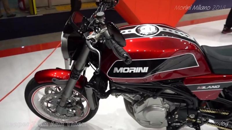 Moto Morini Milano 2018 - First look and walkaround