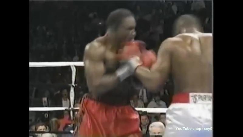 Риддика Боу -Эвандер Холифилд Riddick Bowe - Evander Holyfield 1 бой 13.11.1992
