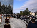 Открытие памятника в парковой зоне компании ТАТНЕФТЬ