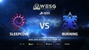 WESG Ukraine Qualifier 6 - Ro4 Match 2: sleepCOW (Z) vs BurNing (T)