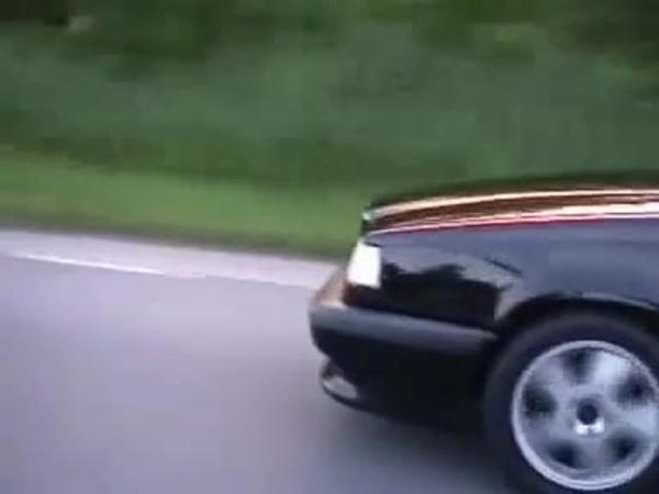 OVERLOADED Crazy Volvo 850