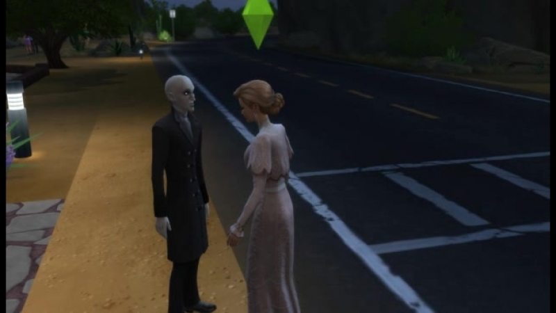 Обращение в вампира Симс 4