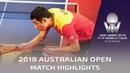 Tomokazu Harimoto vs Xu Xin   2018 Australian Open Highlights (1/2)