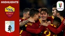 Roma 4-0 Entella | Schick At The Double As Roma March Into Quarter-Finals | Coppa Italia 18/19