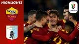 Roma 4-0 Entella Schick At The Double As Roma March Into Quarter-Finals Coppa Italia 1819