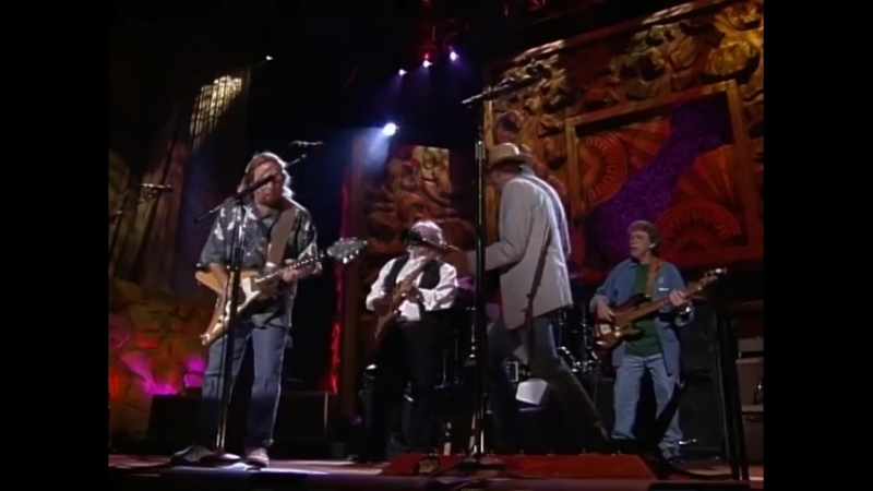 Crosby, Stills, Nash Young - Almost Cut My Hair (Live at Farm Aid 2000)